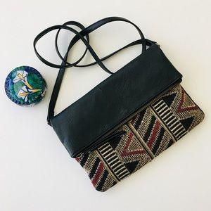 Style & Co Bags - Cross Body Purse - Tribal Print Design